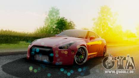 Nissan GTR-R35 Liberty Walk LB performance für GTA San Andreas
