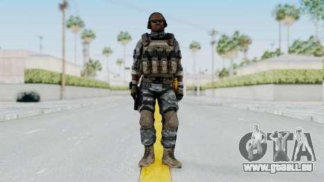 Battery Online Soldier 6 v1 pour GTA San Andreas deuxième écran