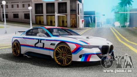 2015 BMW CSL 3.0 Hommage R pour GTA San Andreas