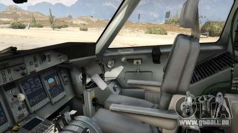 GTA 5 Bombardier Dash 8Q-400 cinquième capture d'écran