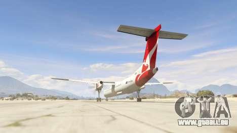 GTA 5 Bombardier Dash 8Q-400 troisième capture d'écran