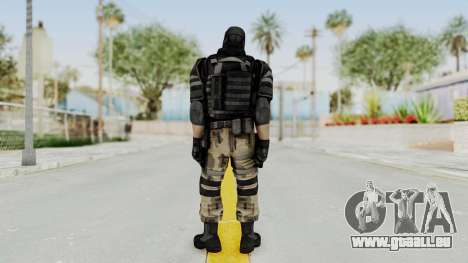 F.E.A.R. 2 - Soldier pour GTA San Andreas troisième écran