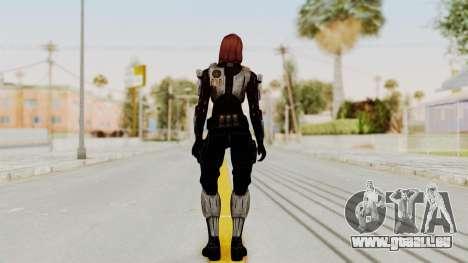 Mass Effect 3 Female Shepard Ajax Armor für GTA San Andreas dritten Screenshot