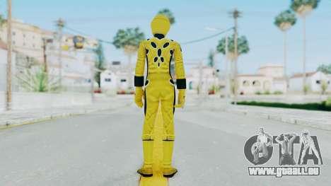 Power Rangers Jungle Fury - Yellow pour GTA San Andreas troisième écran