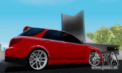 Subaru Impreza WRX STi Wagon Fox 2007 für GTA San Andreas rechten Ansicht
