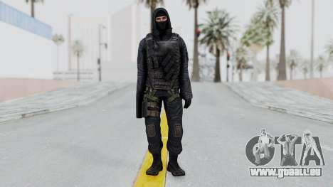SAS No Gas Mask from CSO2 pour GTA San Andreas deuxième écran