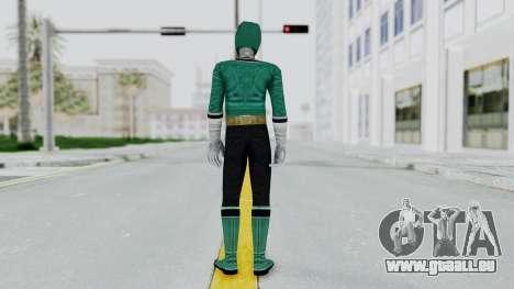 Power Rangers Samurai - Green für GTA San Andreas dritten Screenshot