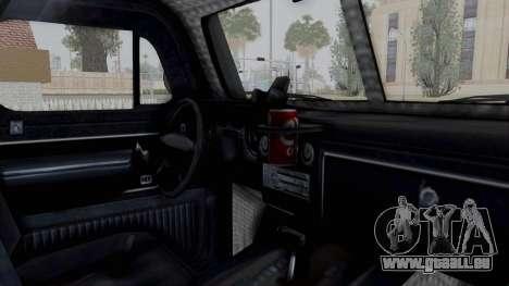 GTA 5 Bravado Duneloader Cleaner pour GTA San Andreas vue intérieure