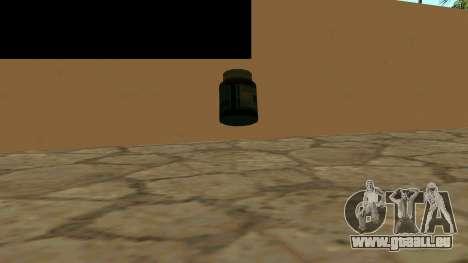 Remplacer les icônes et sauver des vies pour GTA San Andreas deuxième écran