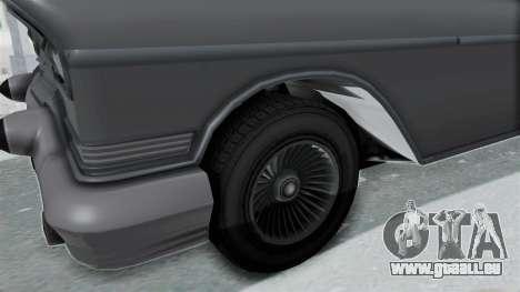 GTA 5 Declasse Tornado No Hifi and Hydro pour GTA San Andreas vue arrière