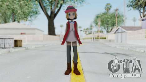 Pokémon XY Series - Serena (New Outfit) pour GTA San Andreas deuxième écran