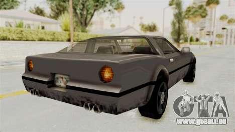 Beta VC Banshee pour GTA San Andreas laissé vue