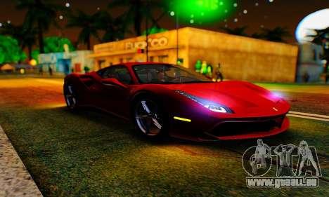 ENB B.M.S. pour GTA San Andreas cinquième écran