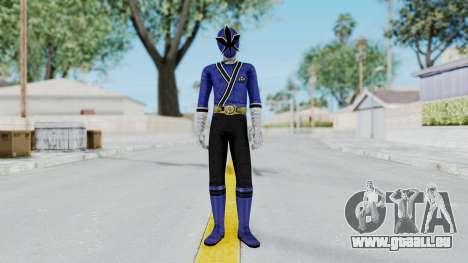Power Rangers Samurai - Blue pour GTA San Andreas deuxième écran