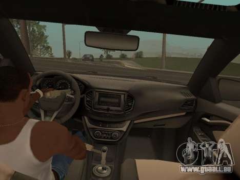 Lada Vesta pour GTA San Andreas vue de droite