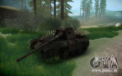 Panther II für GTA San Andreas Rückansicht