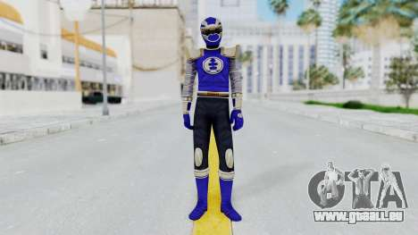 Power Rangers Ninja Storm - Navy für GTA San Andreas zweiten Screenshot