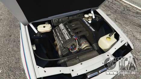 GTA 5 BMW M3 (E30) 1991 v1.3 rechte Seitenansicht
