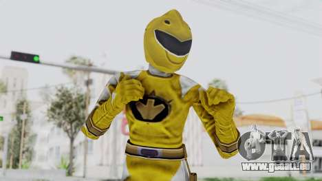 Power Rangers Dino Thunder - Yellow pour GTA San Andreas