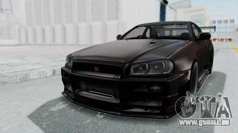 Nissan Skyline R34 GTR 2002 V-Spec II S-Tune pour GTA San Andreas