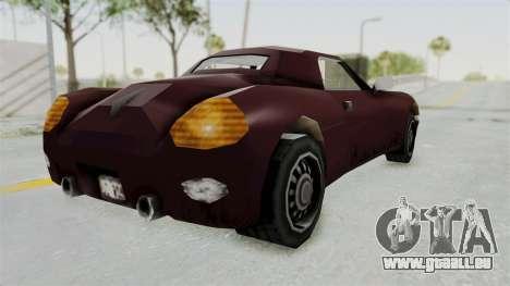 GTA 3 Stinger pour GTA San Andreas laissé vue