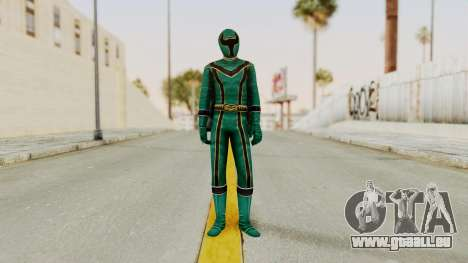 Power Rangers Mystic Force - Green für GTA San Andreas zweiten Screenshot