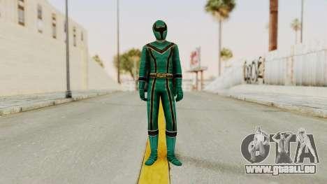 Power Rangers Mystic Force - Green für GTA San Andreas zweiten Screenshot