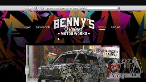 Der body-shop-benny ' s im single-Modus für GTA 5