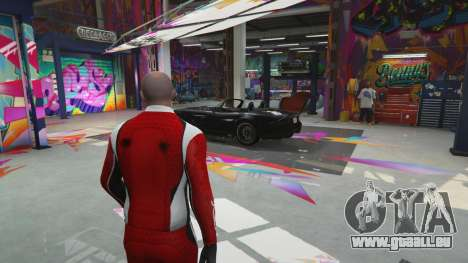Le corps de la boutique benny en mode simple pour GTA 5