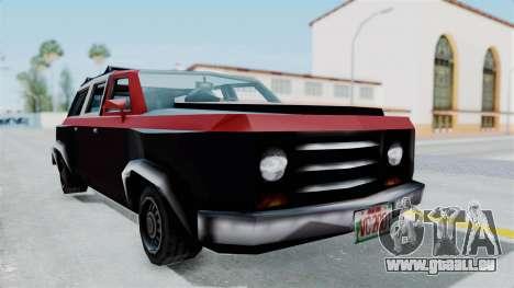 VCS Gang Rancher pour GTA San Andreas vue de droite