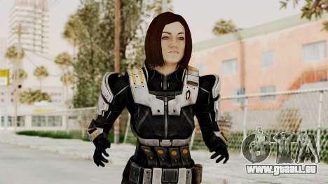 Mass Effect 3 Miranda Short Hair Ajax Armor für GTA San Andreas