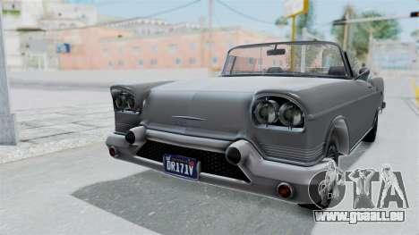 GTA 5 Declasse Tornado No Hifi and Hydro pour GTA San Andreas vue de droite