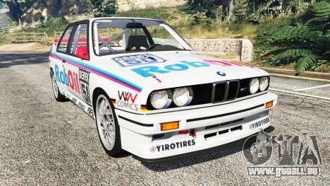 BMW M3 (E30) 1991 v1.3 pour GTA 5
