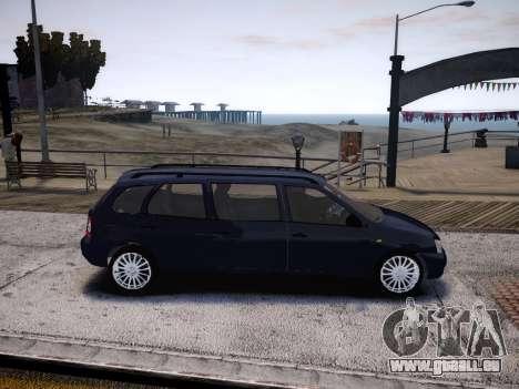 VAZ Kalina 1117 7-porte pour GTA 4 Vue arrière