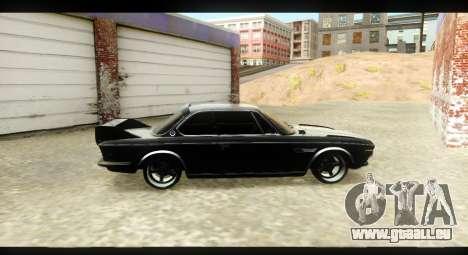 BMW 3.0 CSL pour GTA San Andreas vue arrière