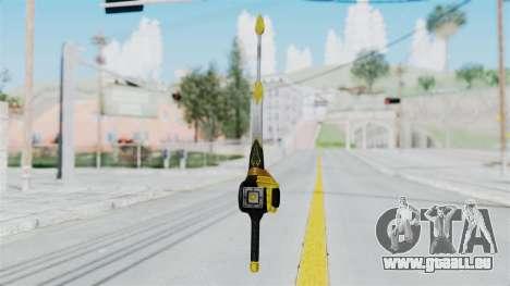 Saber Dice pour GTA San Andreas deuxième écran
