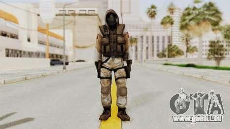 Hodeed SAS 10 pour GTA San Andreas deuxième écran