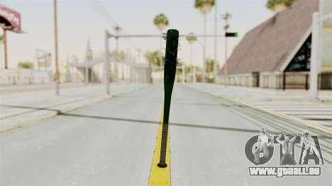 Nail Baseball Bat v1 pour GTA San Andreas deuxième écran