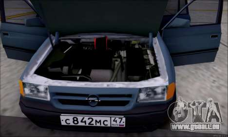 Opel Astra pour GTA San Andreas salon