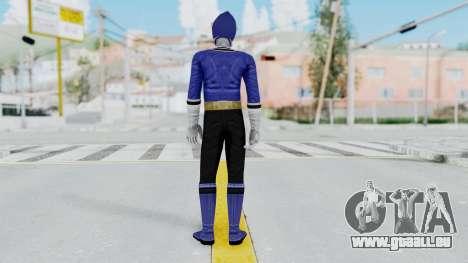 Power Rangers Samurai - Blue für GTA San Andreas dritten Screenshot