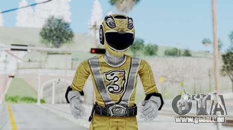 Power Rangers RPM - Yellow für GTA San Andreas