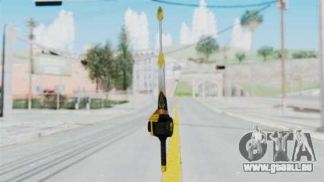 Saber Dice pour GTA San Andreas