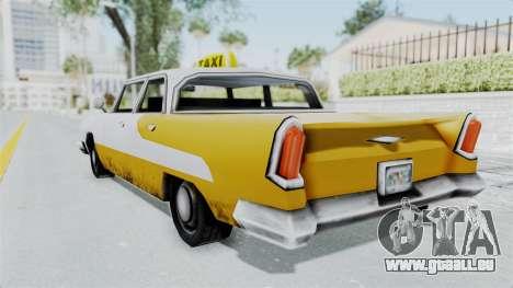 GTA VC Oceanic Taxi pour GTA San Andreas laissé vue