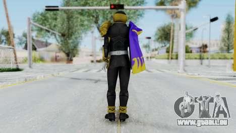 Kamen Rider Beast Dolphi für GTA San Andreas dritten Screenshot