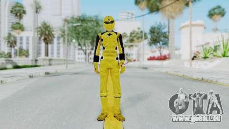 Power Rangers Jungle Fury - Yellow pour GTA San Andreas deuxième écran