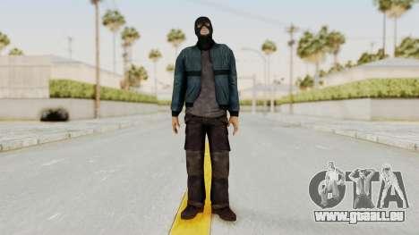 Wanted Weapons Of Fate Chicago Grunt Masked für GTA San Andreas zweiten Screenshot