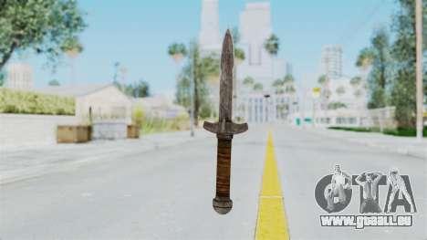 Skyrim Iron Dager für GTA San Andreas zweiten Screenshot