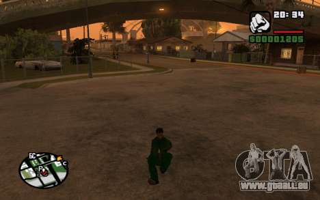 CJ Animation ped für GTA San Andreas fünften Screenshot