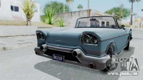 GTA 5 Declasse Tornado No Bobbles and Plaques für GTA San Andreas