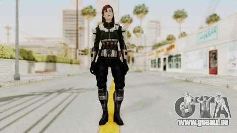Mass Effect 3 Female Shepard Ajax Armor für GTA San Andreas zweiten Screenshot